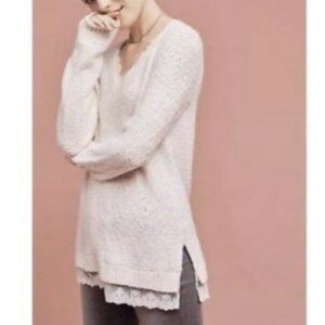 Anthropologie Knitted & Knotted sweater, size S